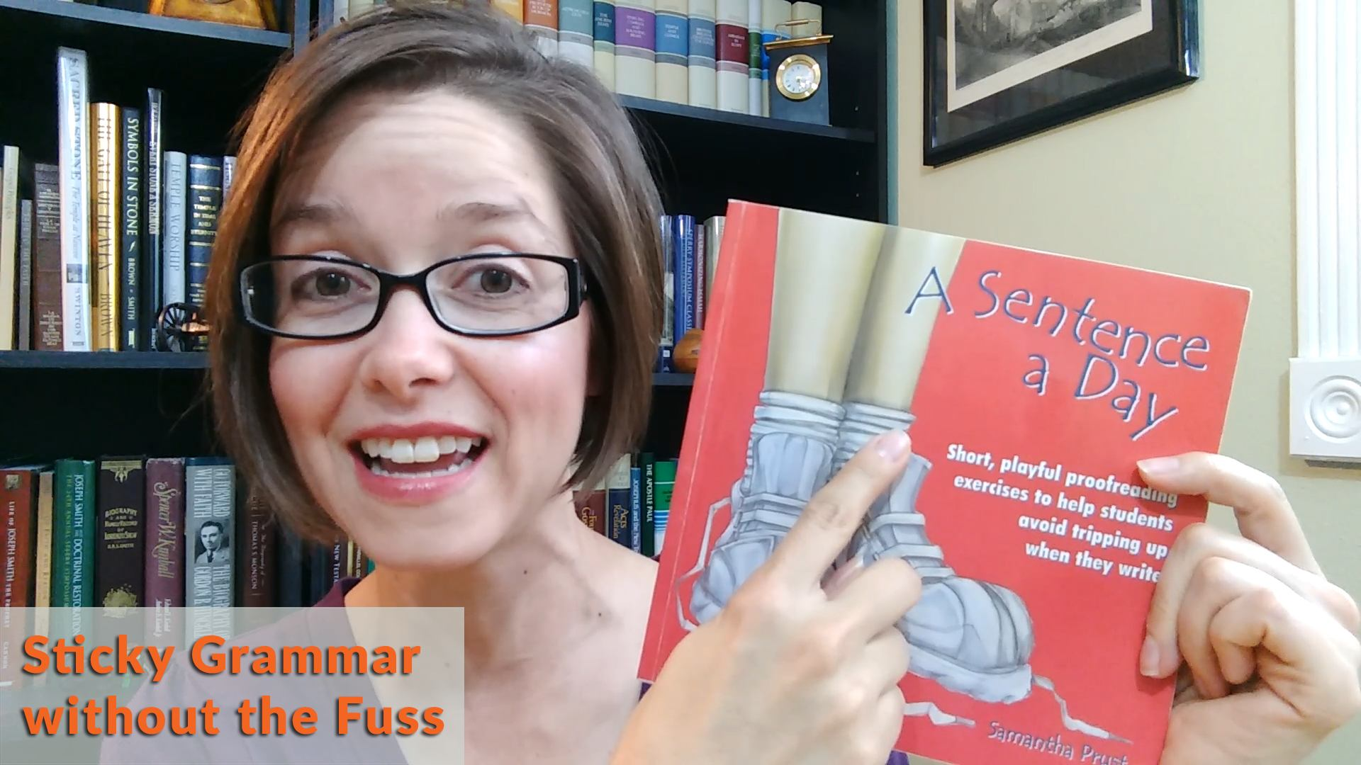 A Sentence a Day Book Review - Sticky Grammar without the Fuss