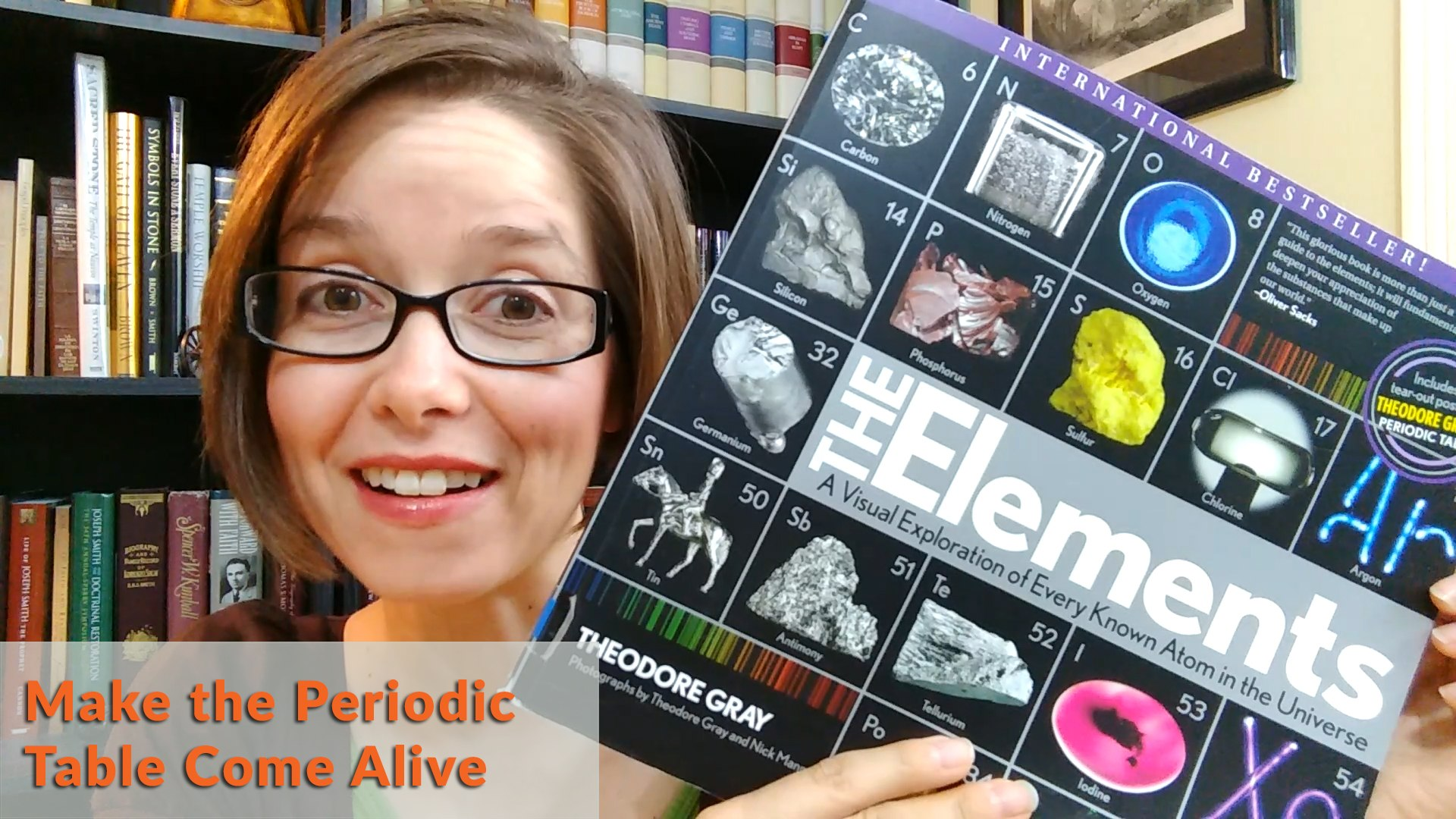 The Elements Book Review - Make the Periodic Table Come Alive