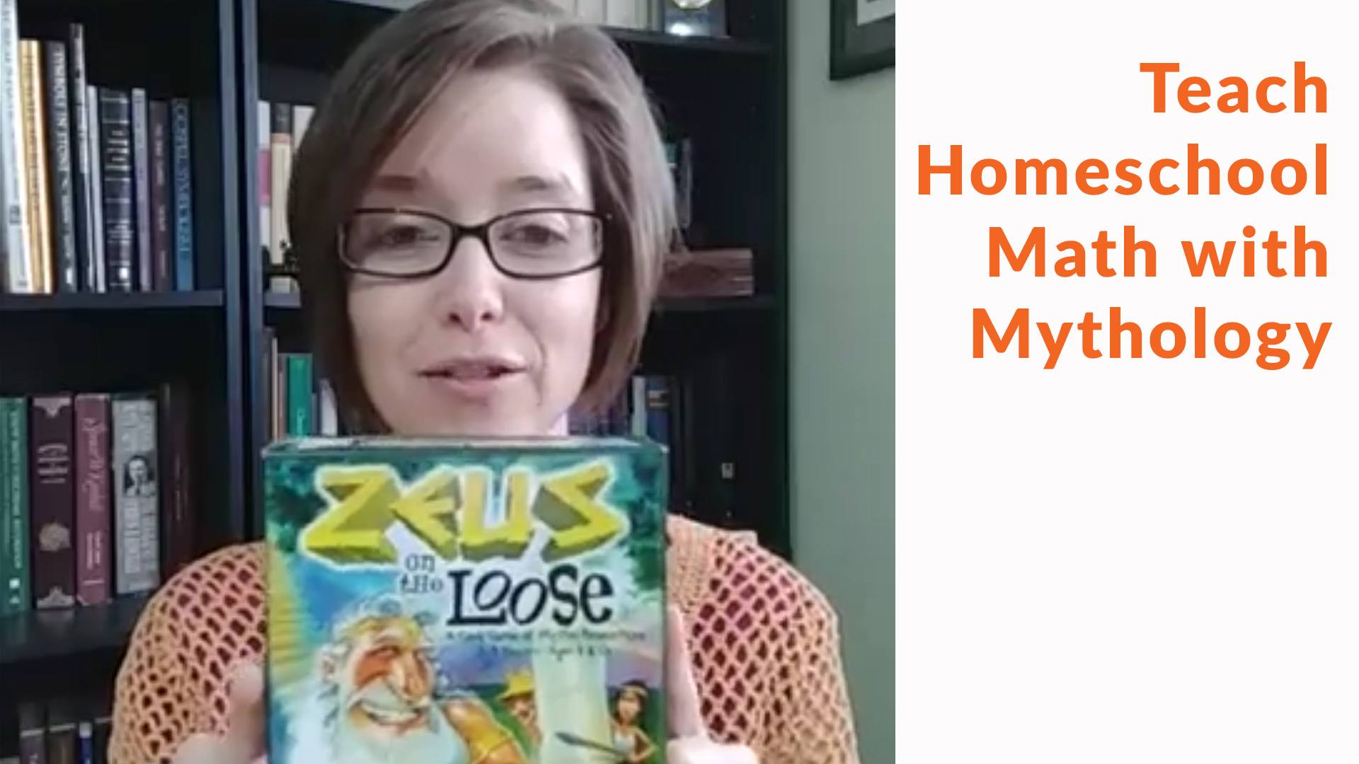 Gamewright Zeus on the Loose Review - Teach Math with Mythology