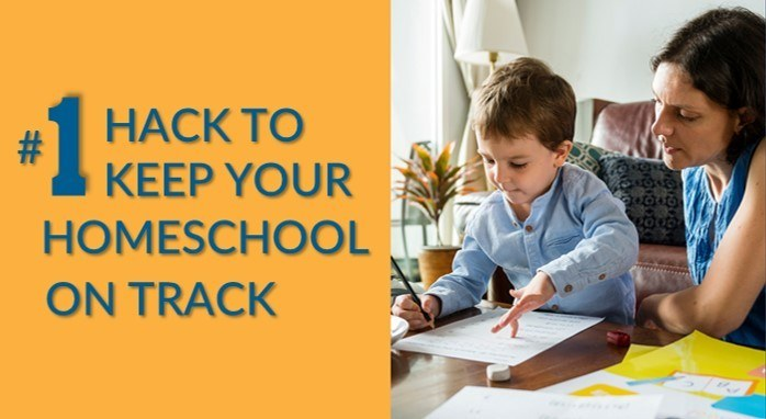 Homeschool hack to good schedule for morning and day