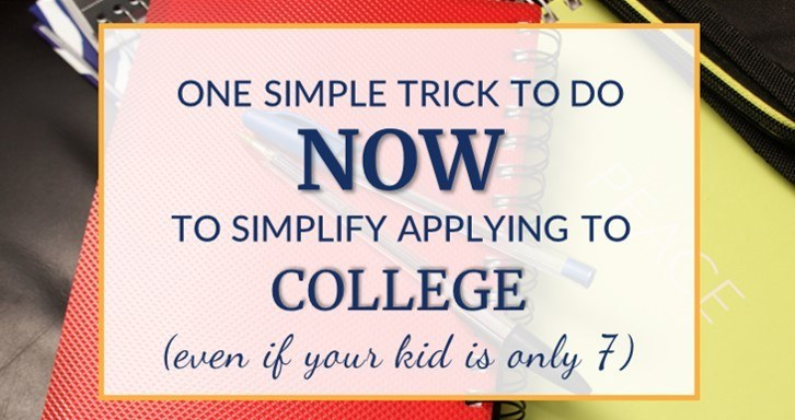Prepare to apply to college as homeschooler