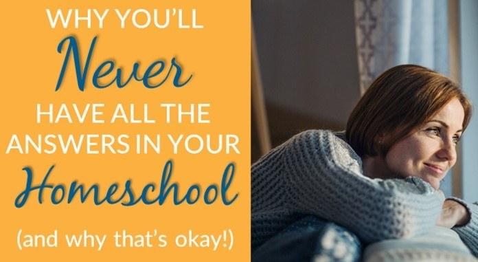 Homeschool encouragement for when it's hard