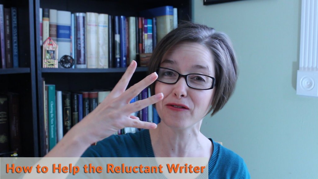 How to help the reluctant writer