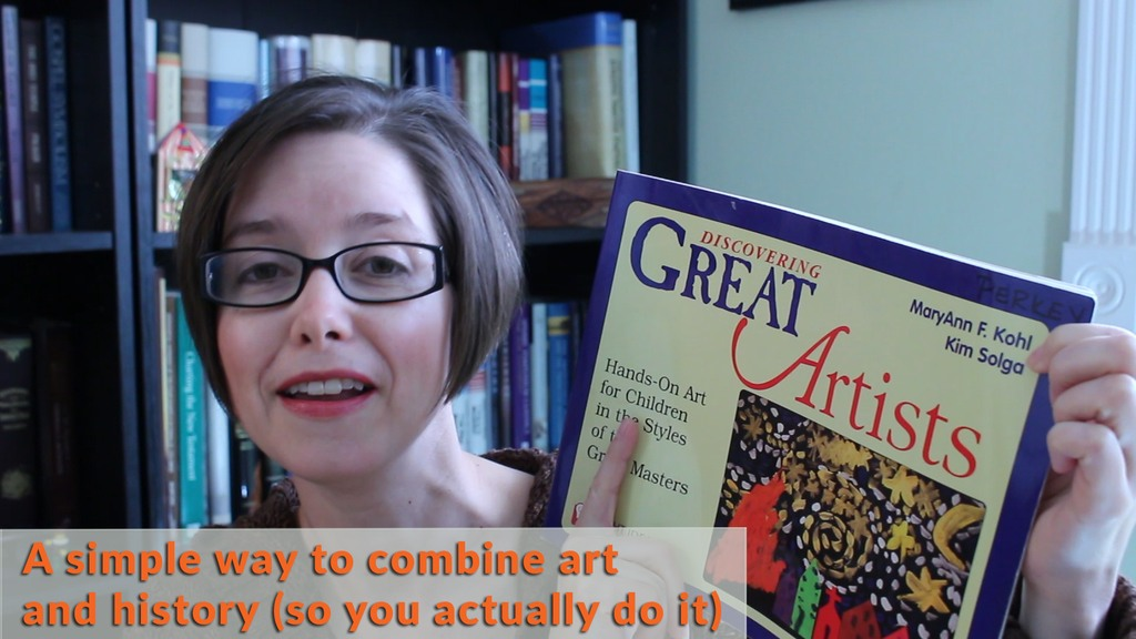 """Homeschool Review """"Discovering Great Artists"""" by MaryAnn Kohl"""