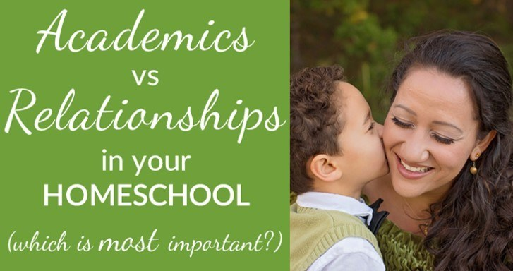 One Thing You Must Put First in Your Homeschool