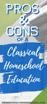 Learn what a classical education is and if it's a good fit for your homeschool. And there are lots of things to love.   homeschool classical curriculum   well-trained mind   classical education ideas   how to teach classical education   homeschool classical curriculum   Classical Education  