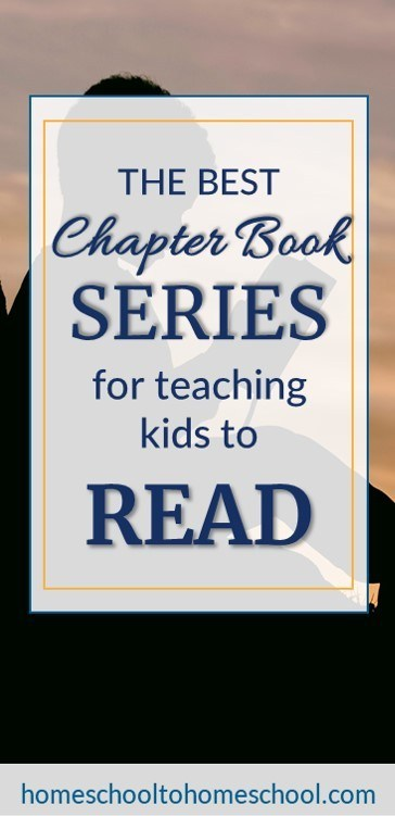 best chapter book series for teaching kids to read