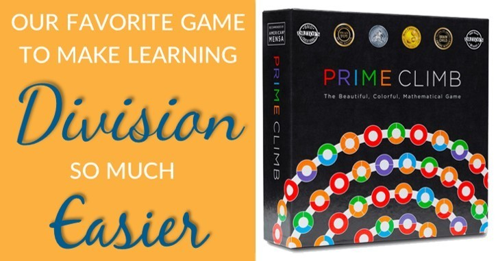 My favorite math game that makes learning division much easier