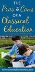 The pros and cons of a classical homeschool education Well-Trained Mind