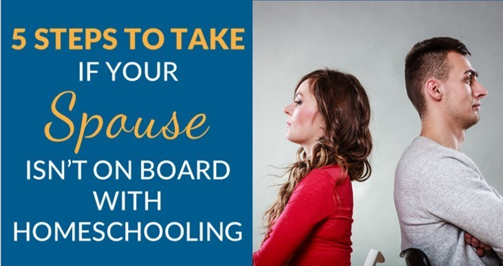 Husband doesn't want to homeschool
