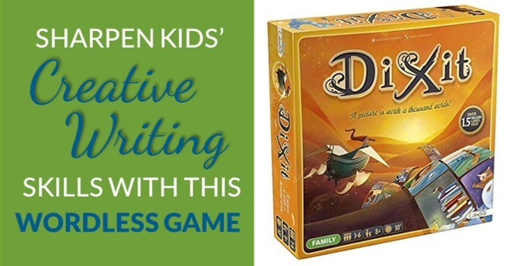 Homeschool writing ideas prompts dixit game review
