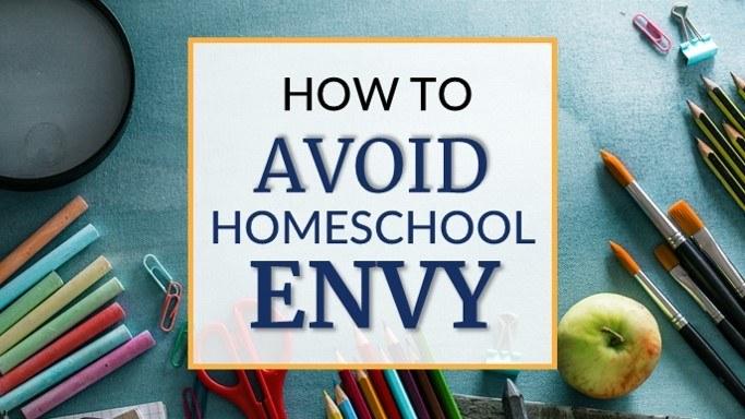 Homeschool guilt and envy tips for beginners