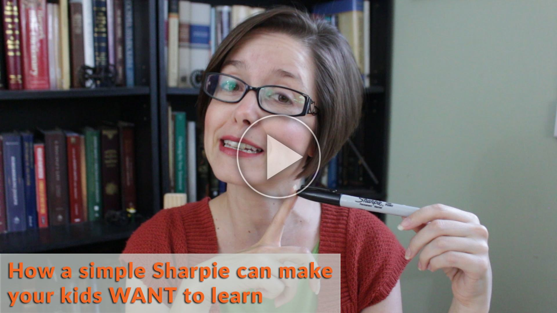 Use Sharpie Whiteboard Homeschool Hack