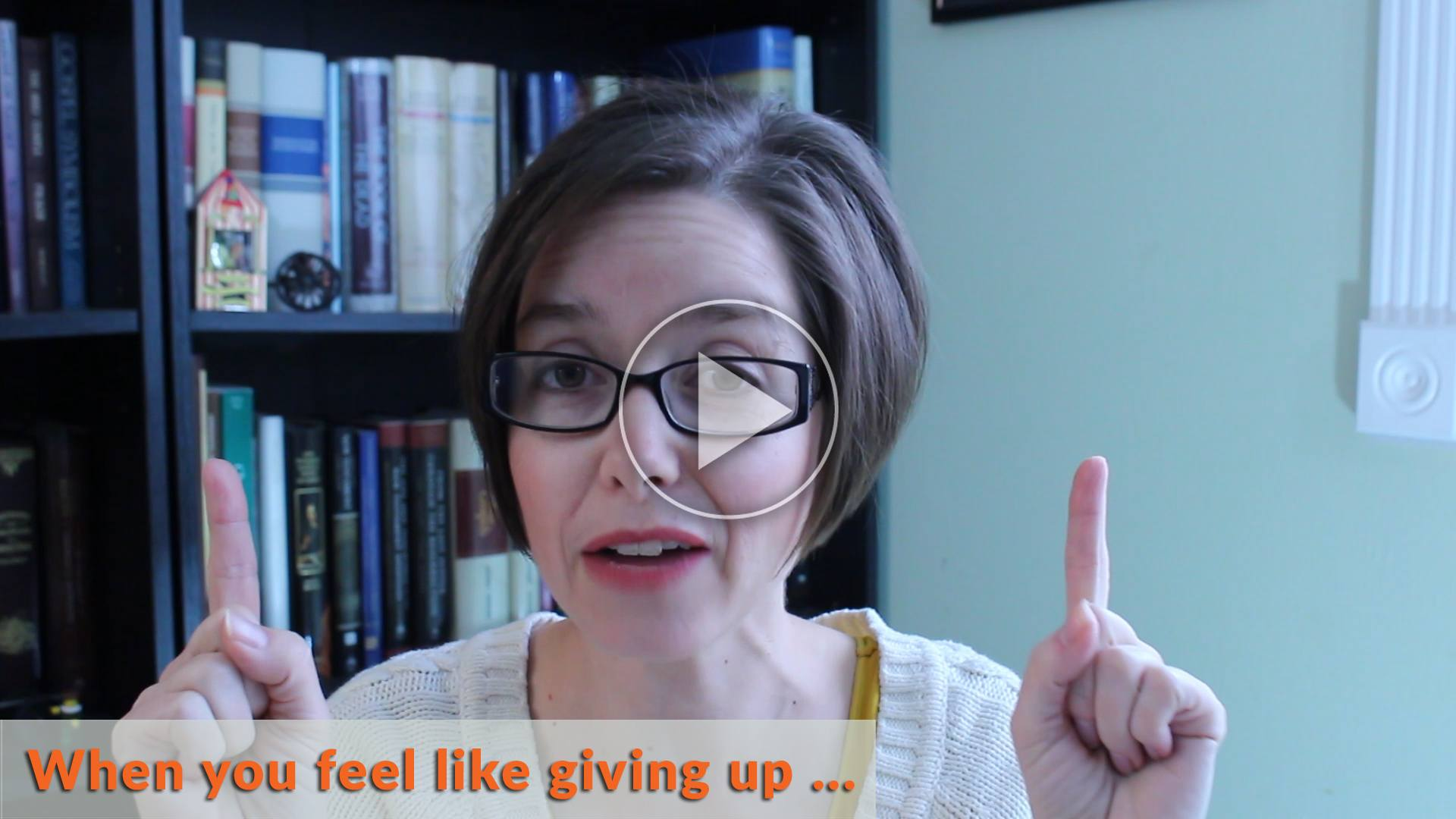 Simple homeschool phrase to use when you feel like giving up
