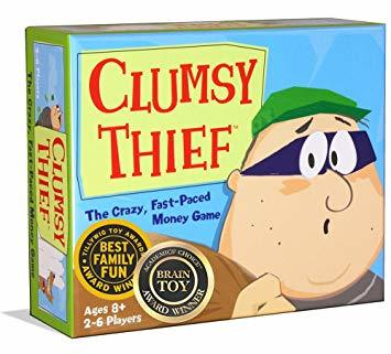 clumsy thief math game review