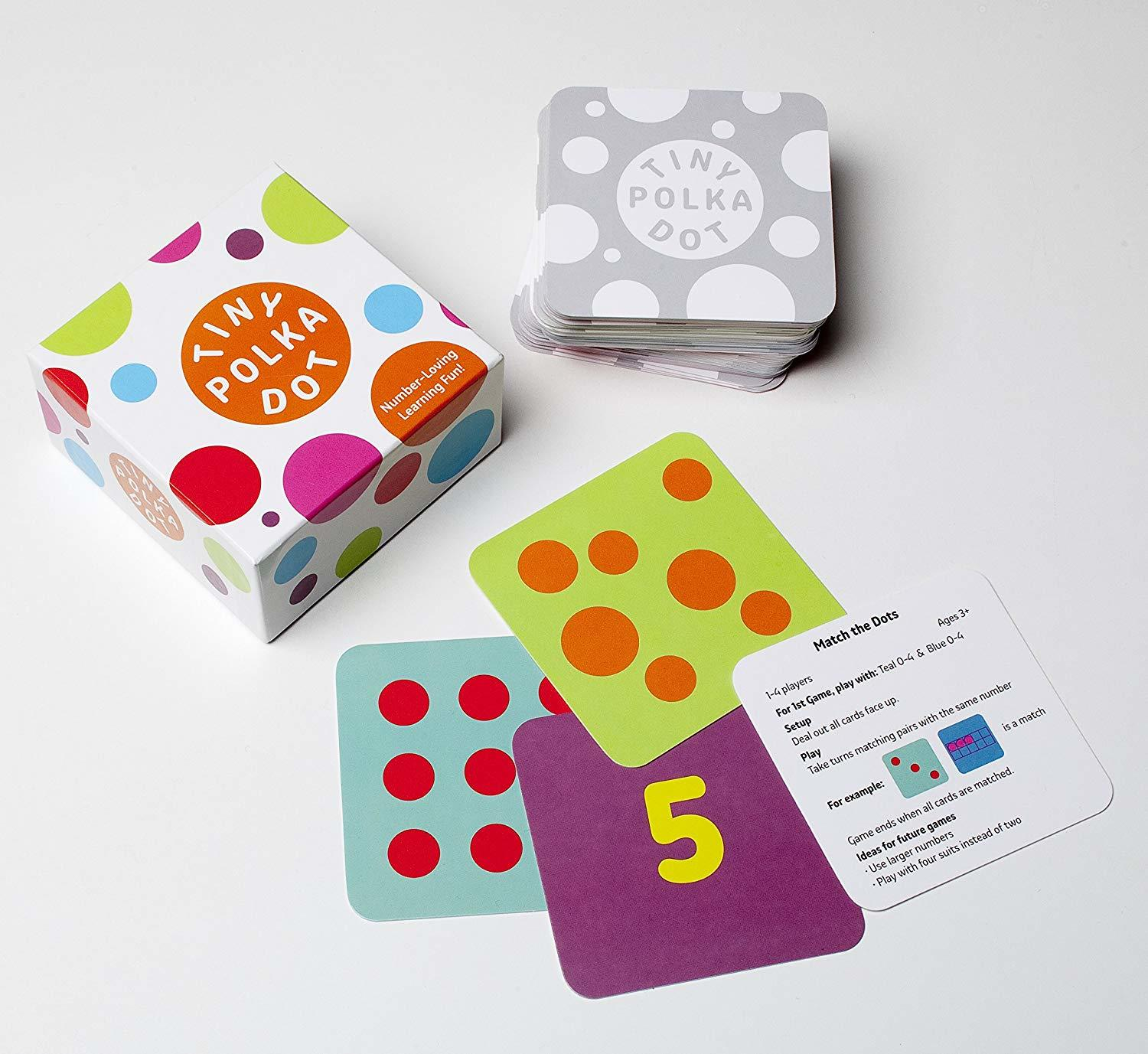 tiny polka dots math review for preschoolers