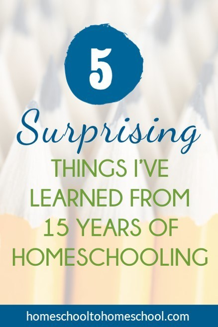 How to homeschool 5 things learned