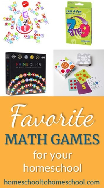 Best math games for kids for homeschool