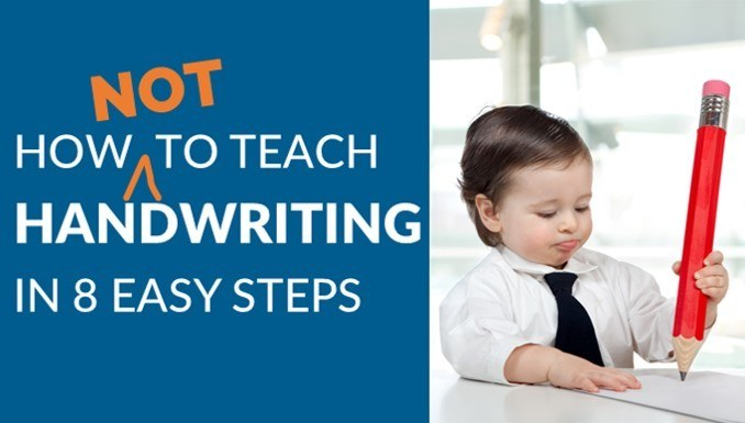 How to teach handwriting 8 easy steps homeschool humor