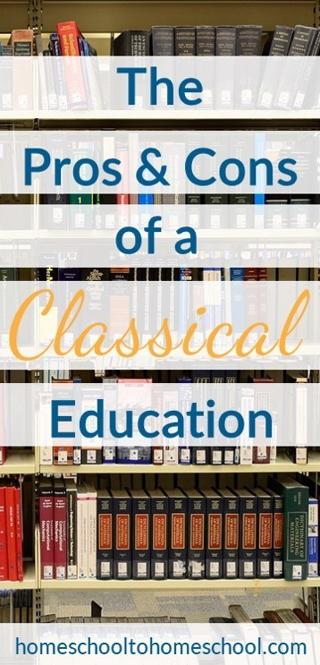 Pros and Cons of a classical education and well-trained mind review