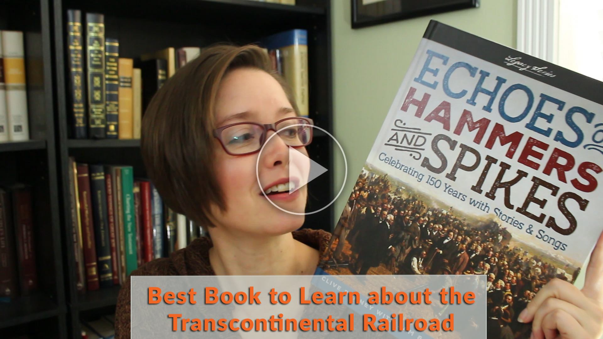 Transcontinental railroad living history book review