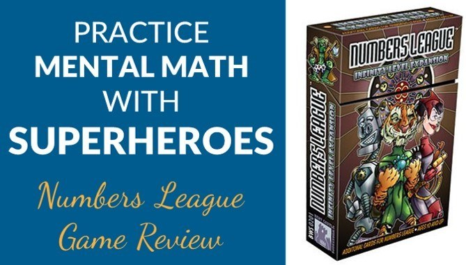 Numbers league math game review
