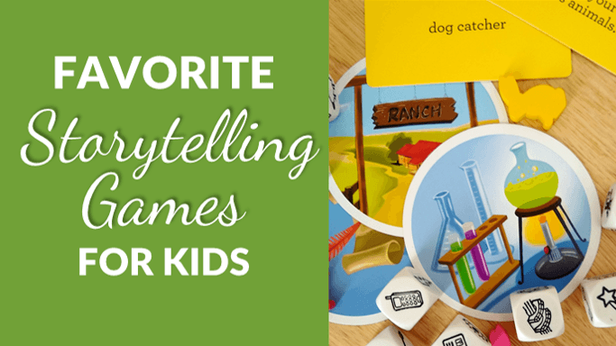 Best Storytelling Games for Kids