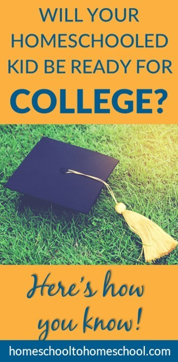 Will your homeschooled kid be ready for college?