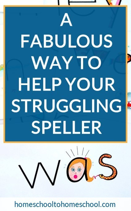 A Fabulous Way to Help Your Struggling Speller