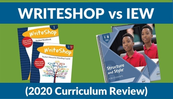 WriteShop vs Structure and Style (IEW) - (2020 Curriculum Review)