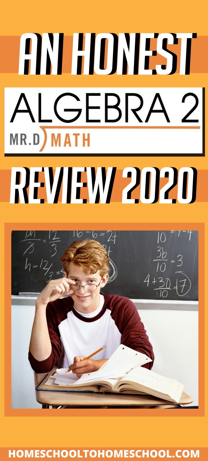 Suddenly I'm excited about math again because this curriculum checks ALL the boxes. So what is this amazing math curriculum called? Mr. D Math -- and oh, how I am in love! | Online math | Algebra | Homeschool math | High school Math| Mr. D Math | Curriculum