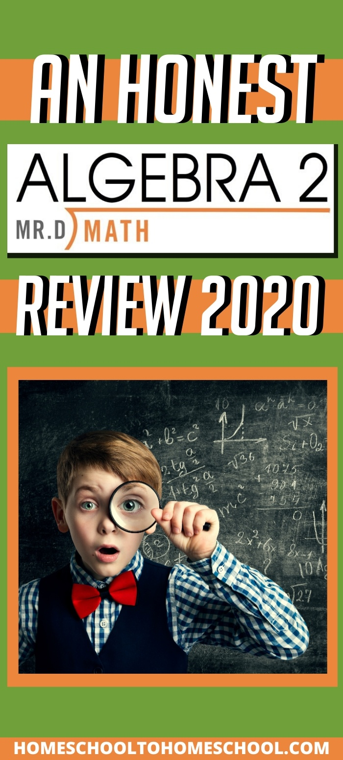 When my kids were younger, we played math games and did lots of math activities. Then my kids hit fractions and decimals and pre-algebra. And we started to stumble. We lurched from one curriculum to another -- each would work for awhile but in the end, something always didn't work. | Online math | Algebra | Homeschool math | High school Math| Mr. D Math | Curriculum