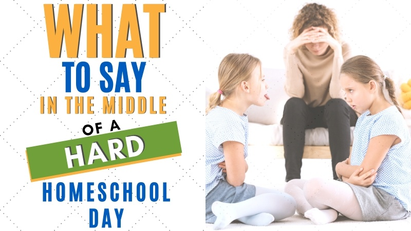 "Some days homeschooling is just hard! We've gotten to the point (after 15 years) where we get a lot of ""pretty good"" days. Want to know how we've done it? 