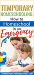 Has COVID-19 brought your kids home? Here's a quick guide to homeschooling during the coronavirus outbreak and quarantine. | School Closed | Short Term homeschooling | School at home | Emergency homeschool | Temporary Homeschool | Quarantine | Covid 19 | Coronavirus |