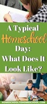"Pull back the curtain and see what the day in the life of a homeschool mom REALLY looks like. Pssst. There really ISN'T a ""typical"" day. But come learn about the routines, rhythms and patterns that we follow. 