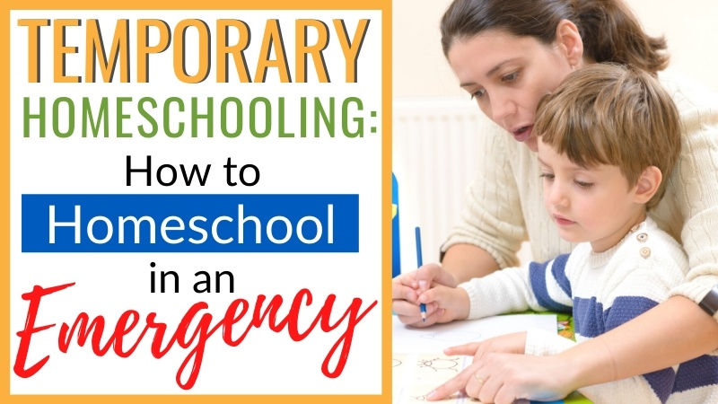 Your relationship is the MOST important thing you can focus on. Here's a quick guide to homeschooling during the coronavirus outbreak and quarantine. | School Closed | Short Term homeschooling | School at home | Emergency homeschool | Temporary Homeschool | Quarantine | Covid 19 | Coronavirus |